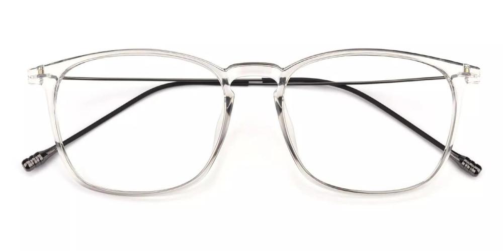 Norwalk Prescription Eyeglasses Gray Clear