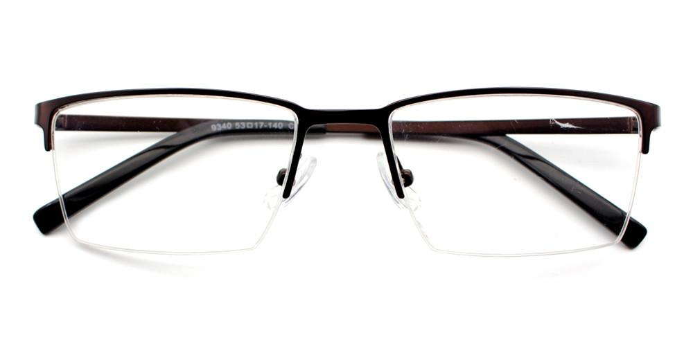 Florian Eyeglasses Brown