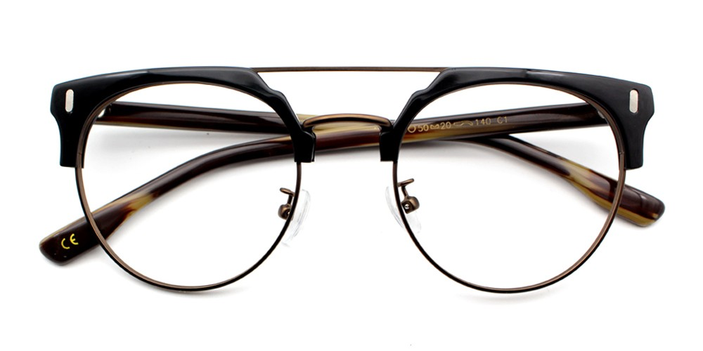 Evan Eyeglasses Blackbrown