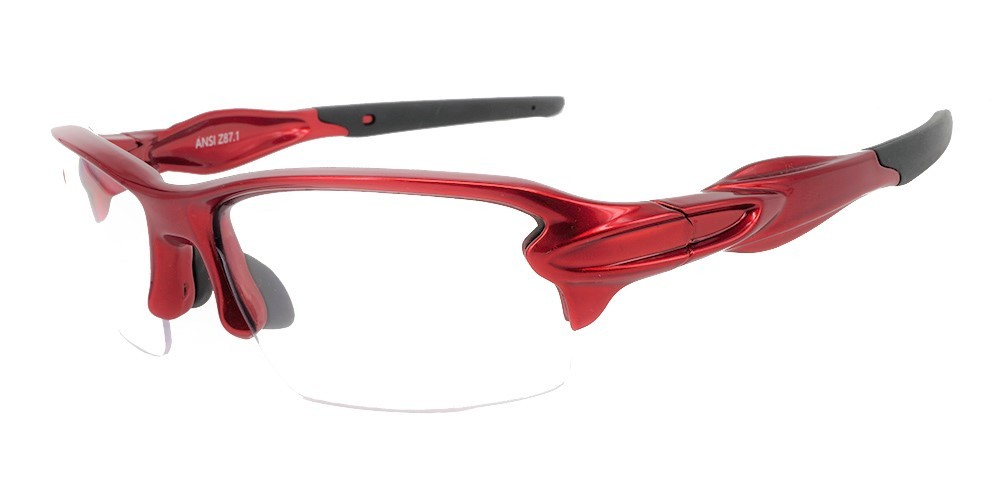 Matrix S713R Protective Eyewear Red -- ANSI Z87.1 Certified