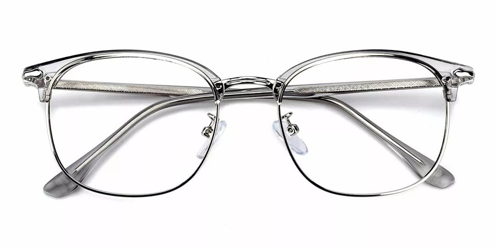 Kansas Cheap Prescription Glasses Clear Grey