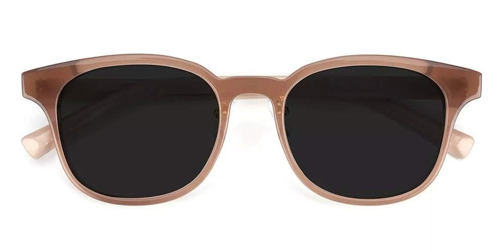 Clovis Prescription Sunglasses Brown