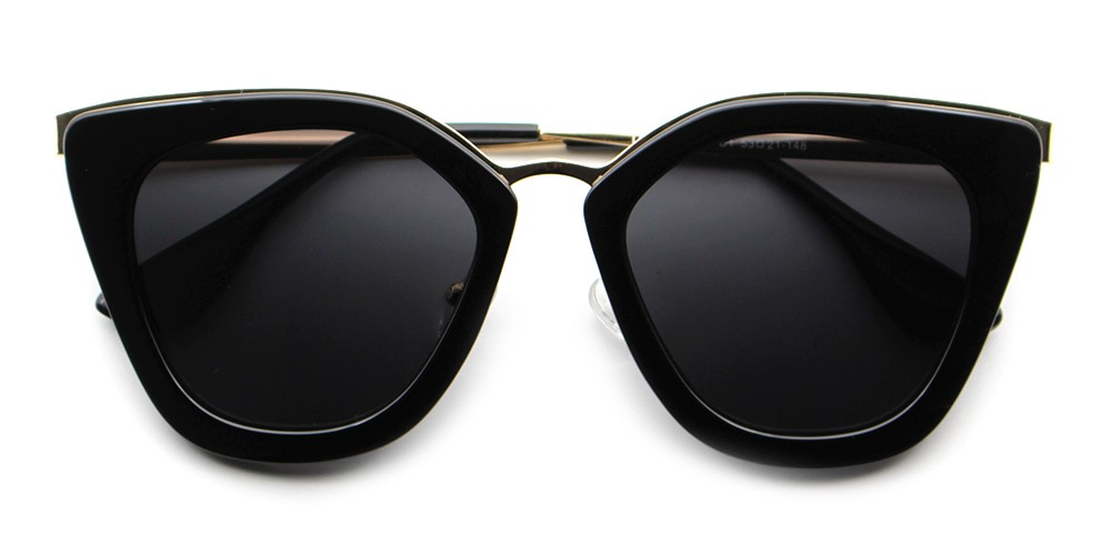 Sadie Rx Sunglasses Black