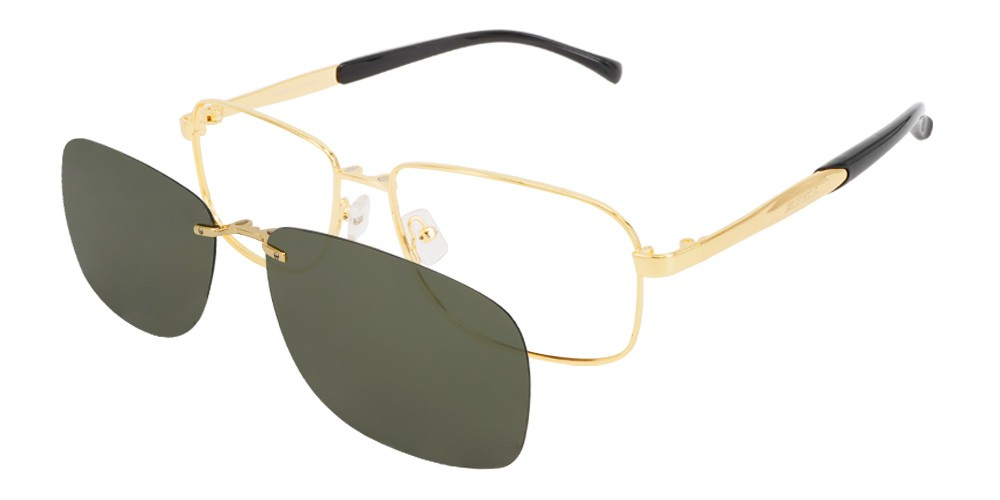 Geneva  Clip-On Rx Sunglases