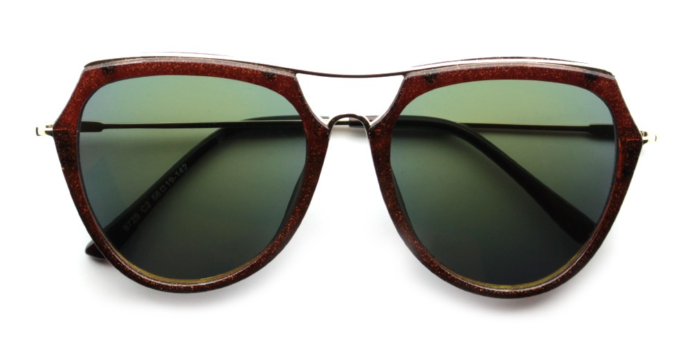 Mia Rx Sunglasses Brown
