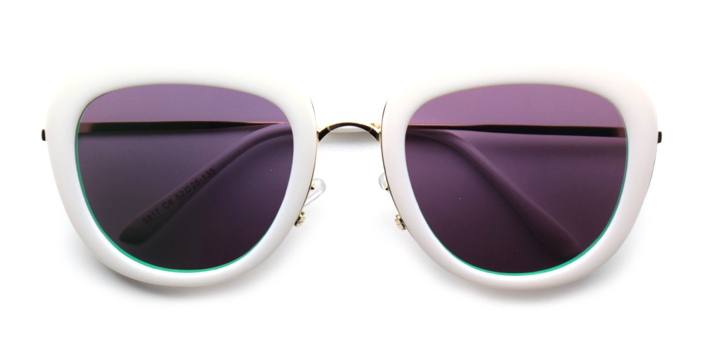 Emily Rx Sunglasses White