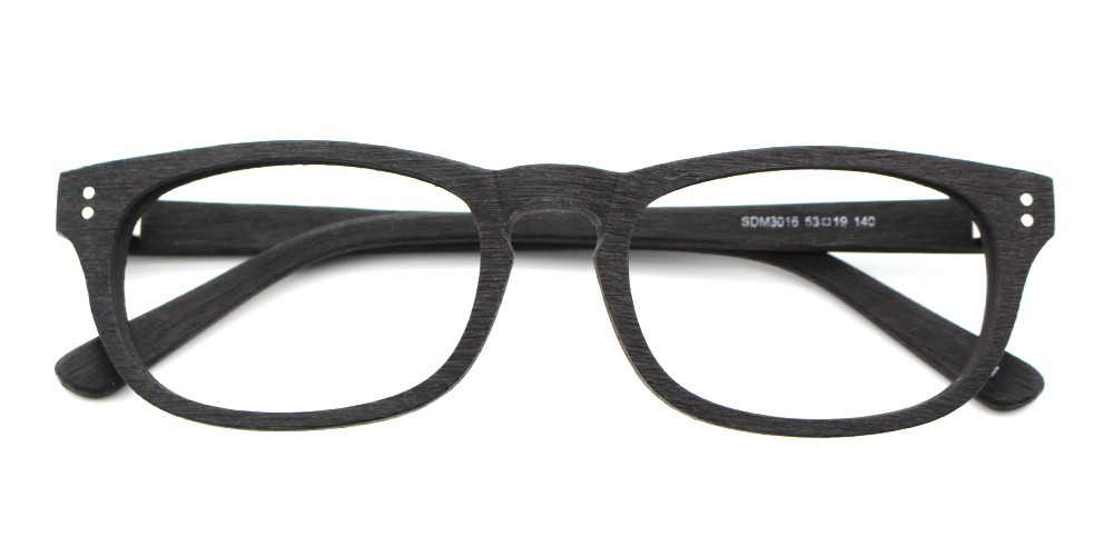 London Eyeglasses Black
