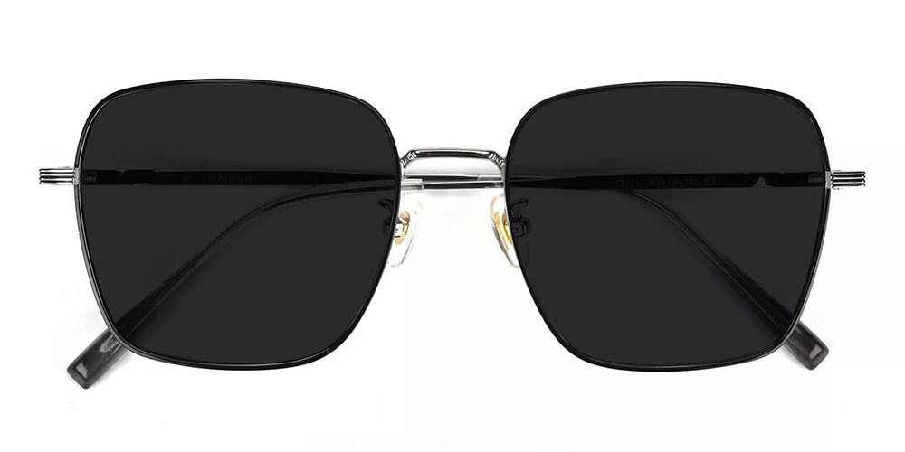 Oakland Prescription Sunglasses - Titanium Frame - Black