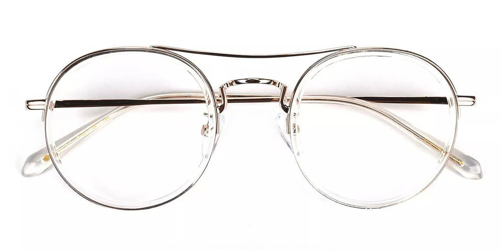 Lancaster Prescription Glasses - Handmade Acetate - Clear