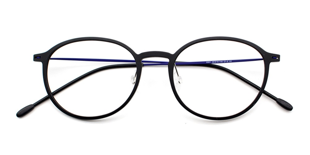 Rania Eyeglasses Black