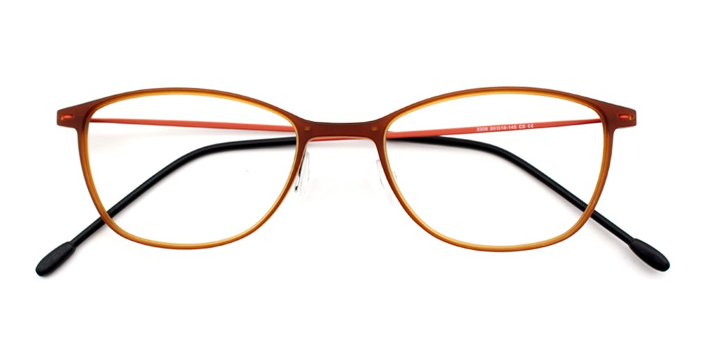 Melody Eyeglasses  Brown