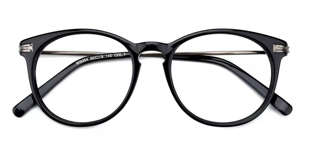 Paterson Cheap Prescription Glasses Black