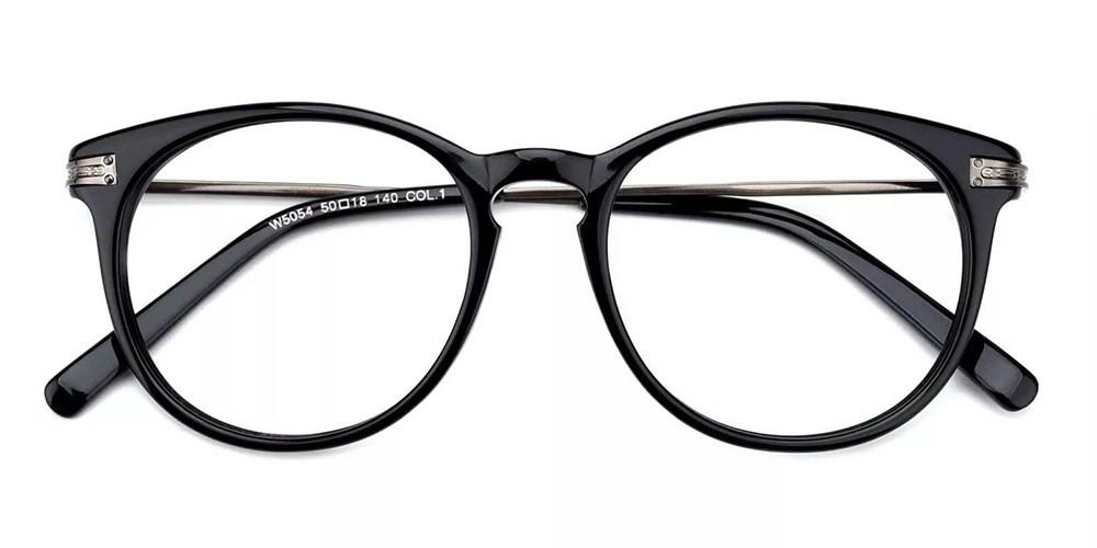 Paterson Cheap Prescription Glasses Black