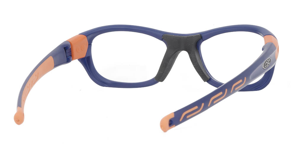 Matrix Boston Prescription Safety & Sports Glasses Blue
