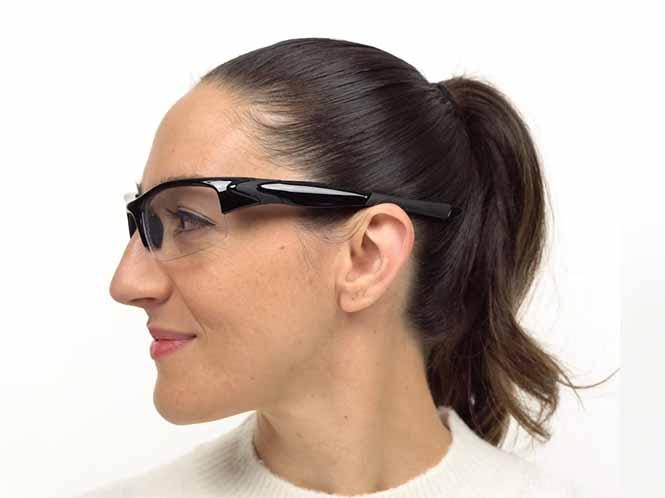 Norfork Prescription Safety Glasses Black ANSI Z87.1 Rated