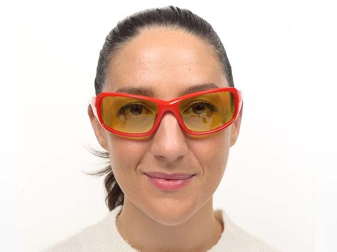 Tacoma Prescription Sports Sunglasses Red -- ANSI Z87.1 Certified