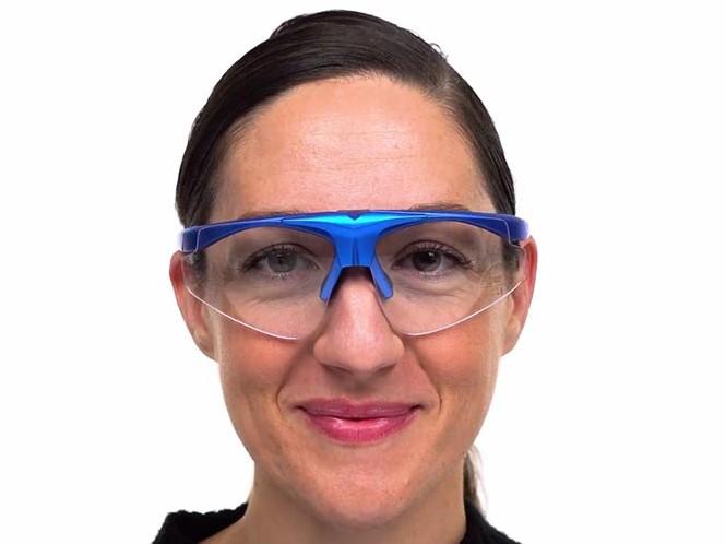 Oxnard Prescription Shooting & Driving Glasses -- -- Three Interchangeable Lenses