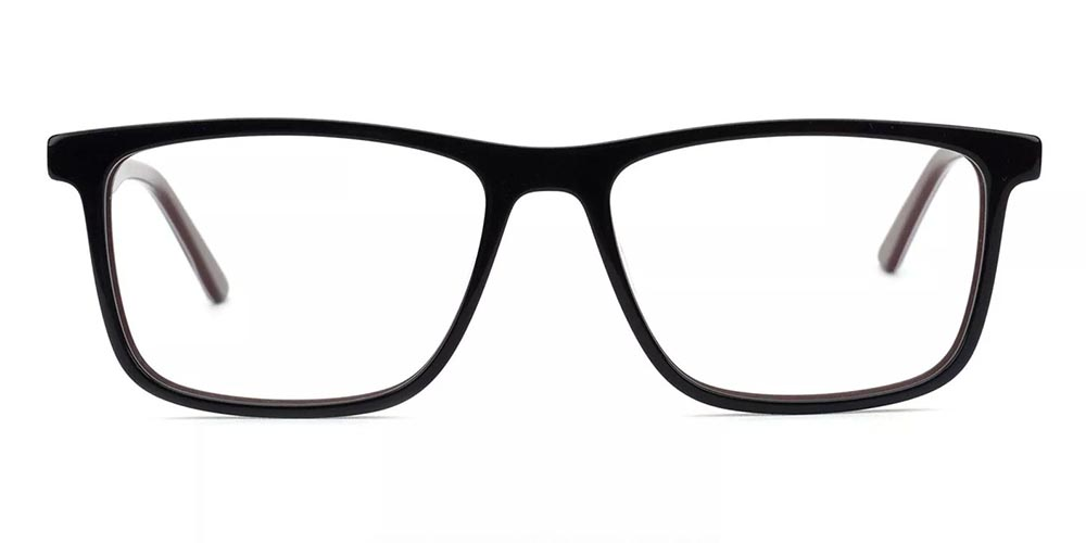 Mcallen Prescription Glasses - Hand Made Acetate - Brown