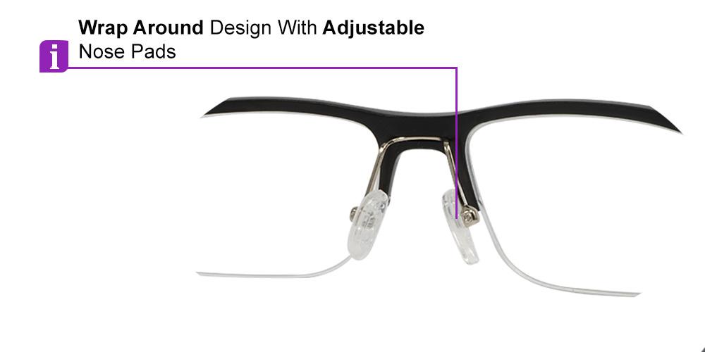 Fusion Prescription Safety & Sports Glasses C1