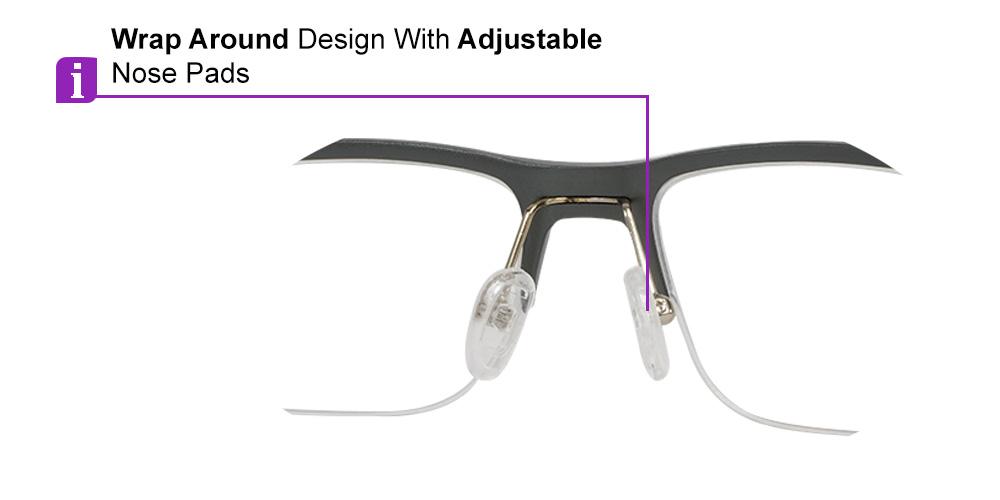 Fusion Prescription Safety & Sports Glasses C2