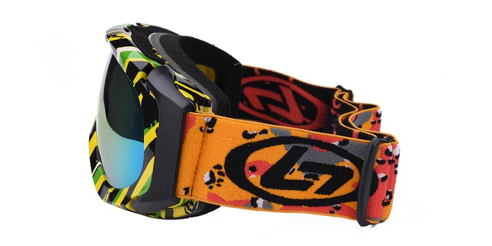 Cole Prescription Snowboard and Ski Goggle Rainbow (Rx Inserts)