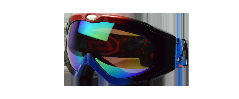 Damien Prescription Snowboard and Ski Goggles  Rainbow (Rx Inserts)