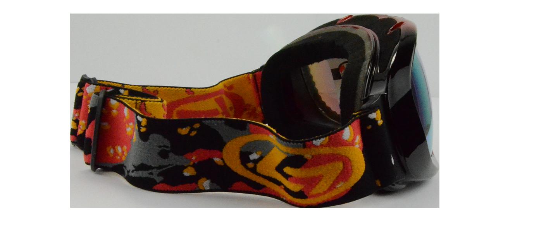 Jake Rx Ski Goggle Red - Prescription Ski Goggles