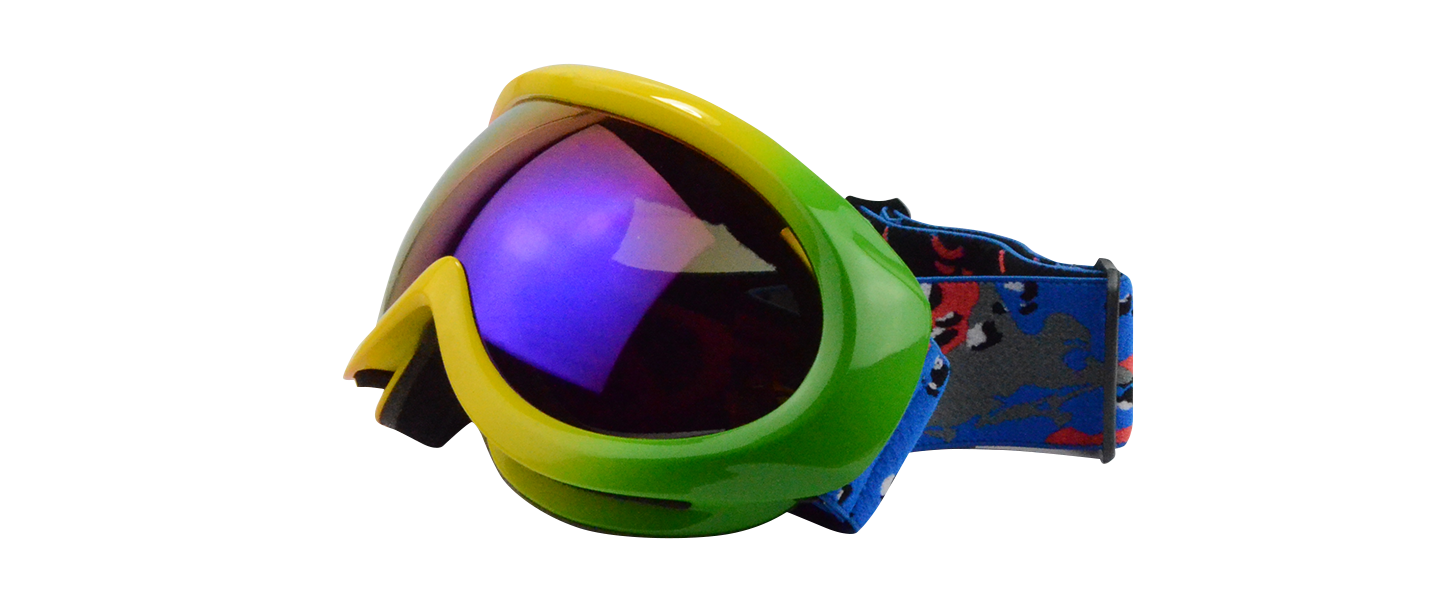 Mateo Rx Ski Goggle Rainbow - Prescription Ski Goggles