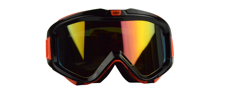Asher Rx Ski Goggle Orange