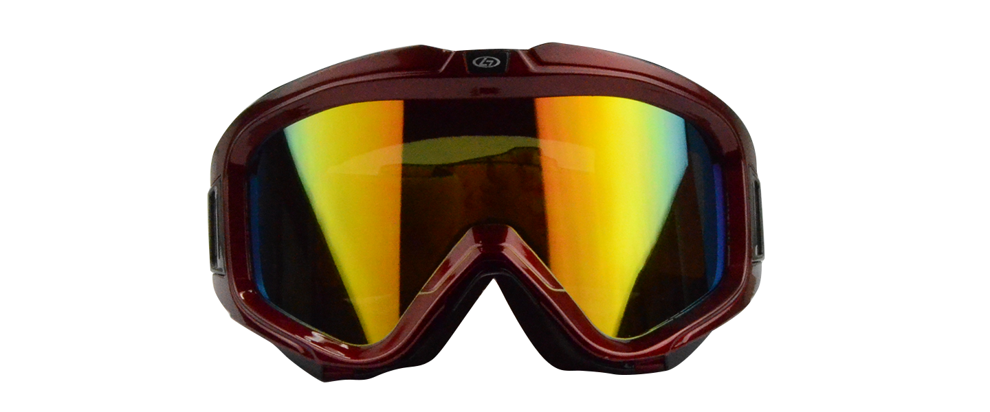Asher Rx Ski Goggle Red