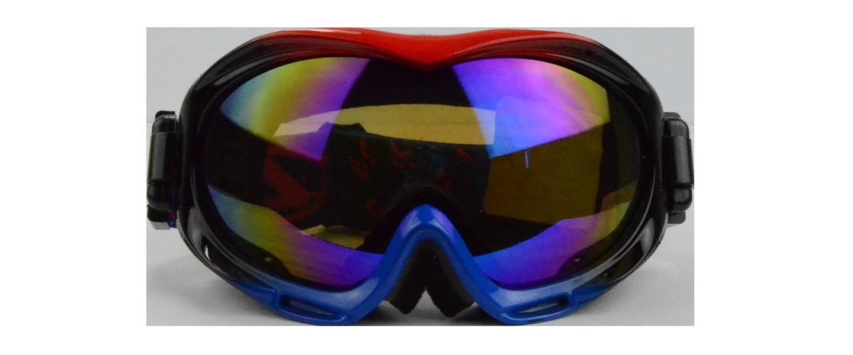 Jeremy Prescription Snowboard and Ski Goggles Blue (Rx Inserts)