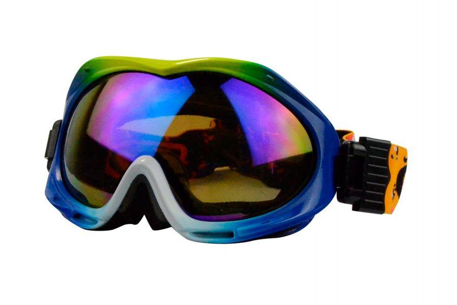 Jeremy Prescription Snowboard and Ski Goggles Yellow (Rx Inserts)