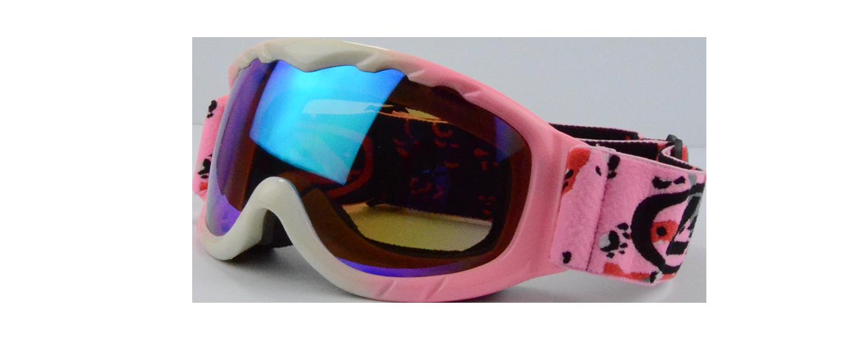 Cole Prescription Ski Goggle Pink - Prescription Snowboard Goggles