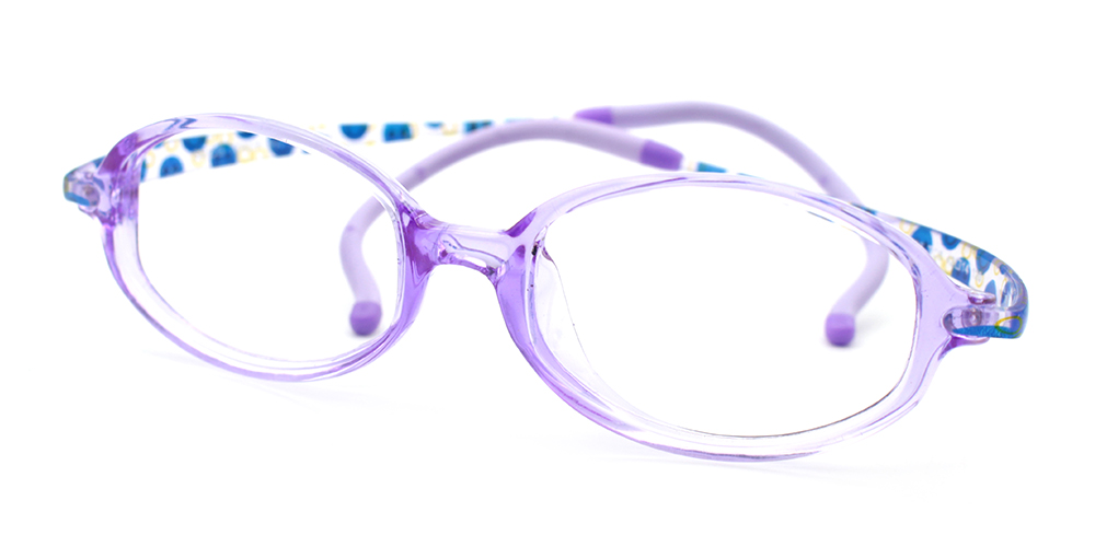 Alexis Kids Glasses Purple