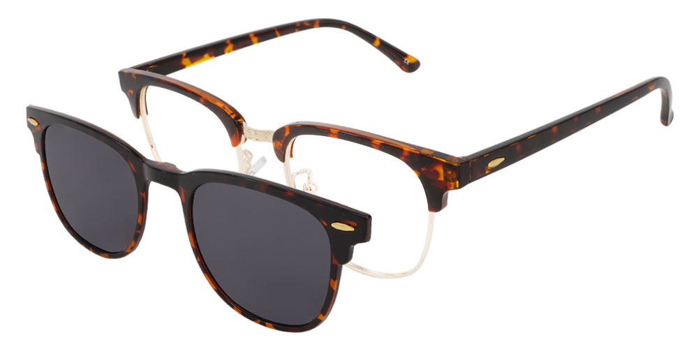Roseville Clip-On Rx Sunglasses - Women's Sunglasses