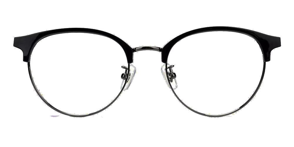 Vancouver Clip On Prescription Sunglasses Black