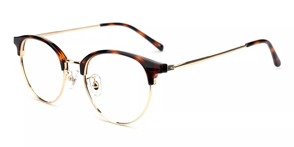 Vancouver Clip On Prescription Sunglasses Tortoise