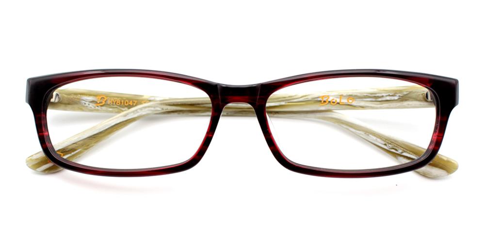 Anna Eyeglasses Red