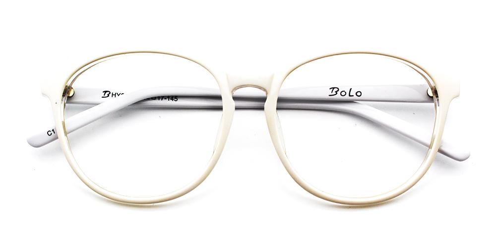 Kaitlyn Eyeglasses White