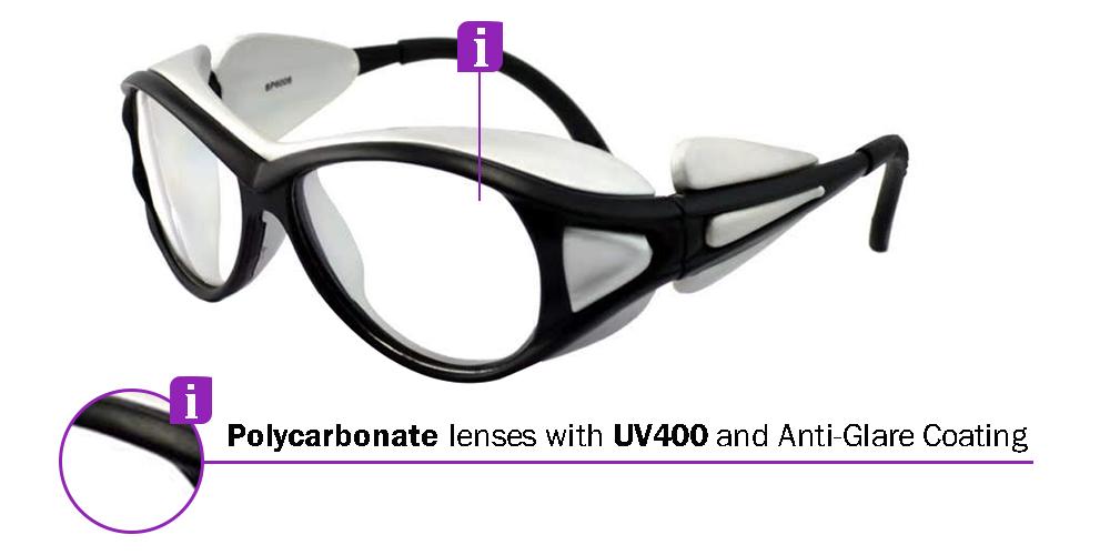 Fusion Rx Safety Glasses X1 - prescription Sports Glasses
