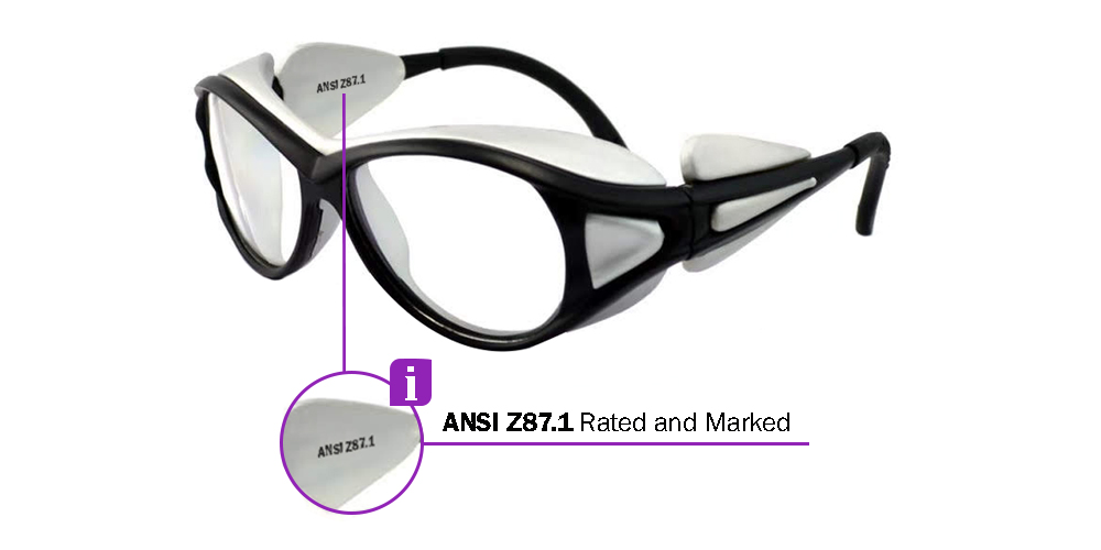 Fusion Rx Safety Glasses X1 - prescription Safety Glasses