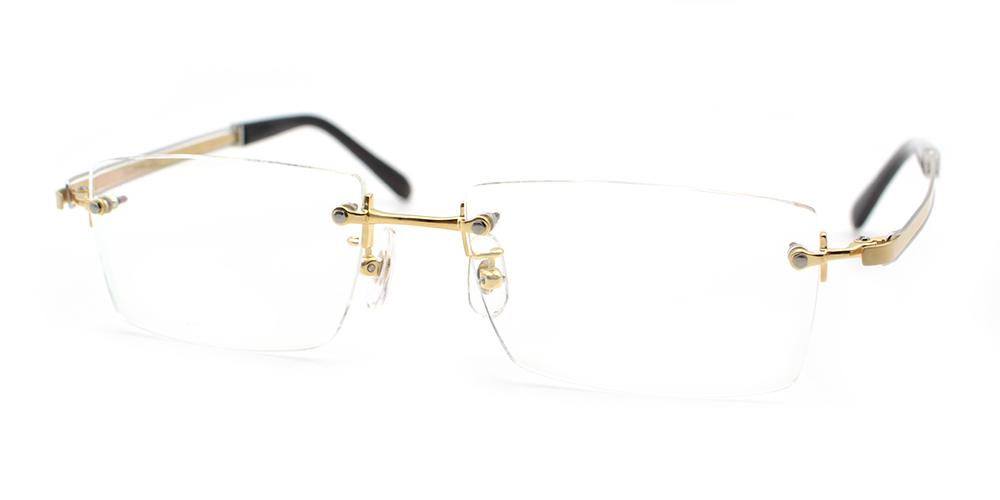 Lucas Titanium Glasses Gold