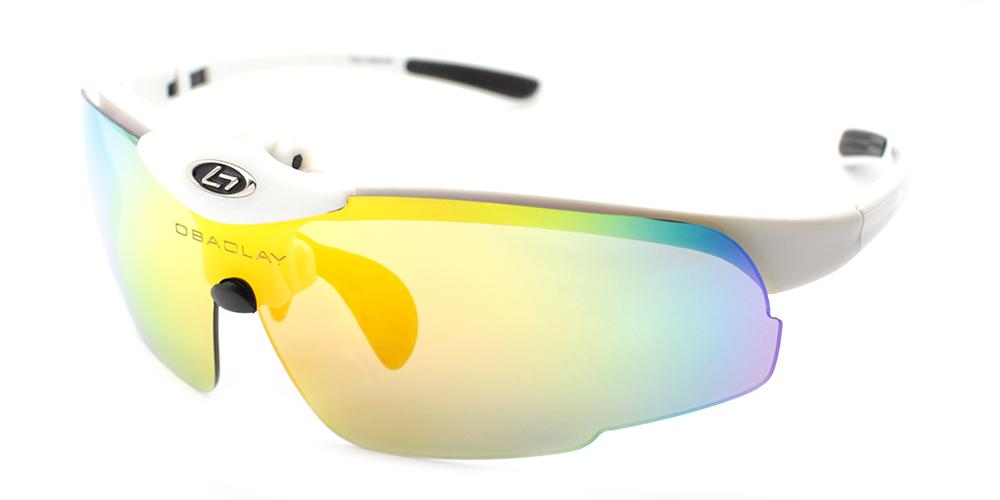 Luke Sports Sunglasses White