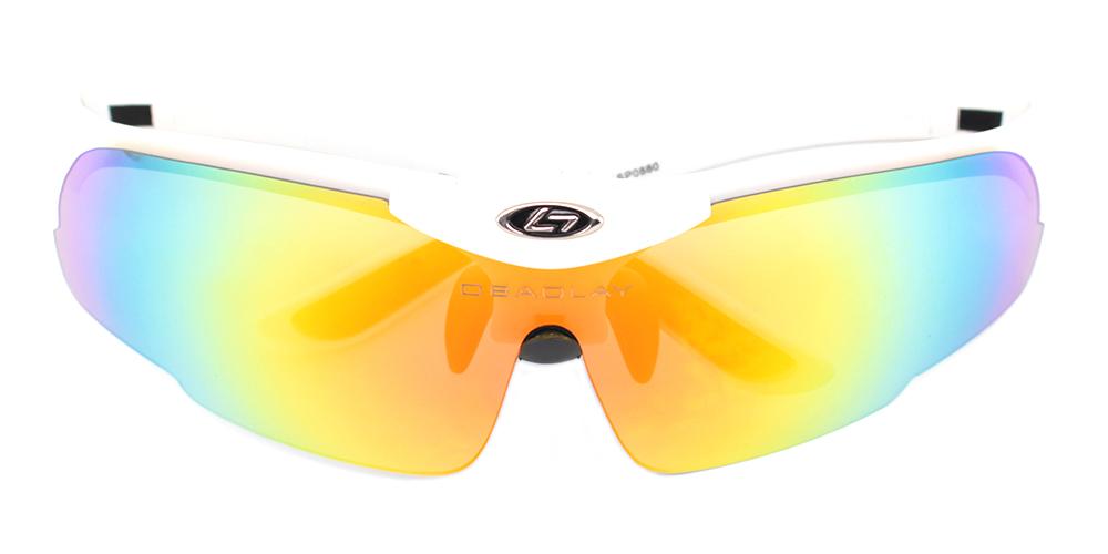 Luke Rx Sports Sunglasses White