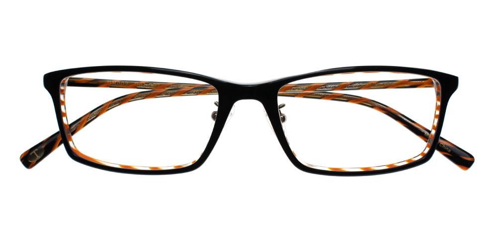 Marina Eyeglasses BlackOrange