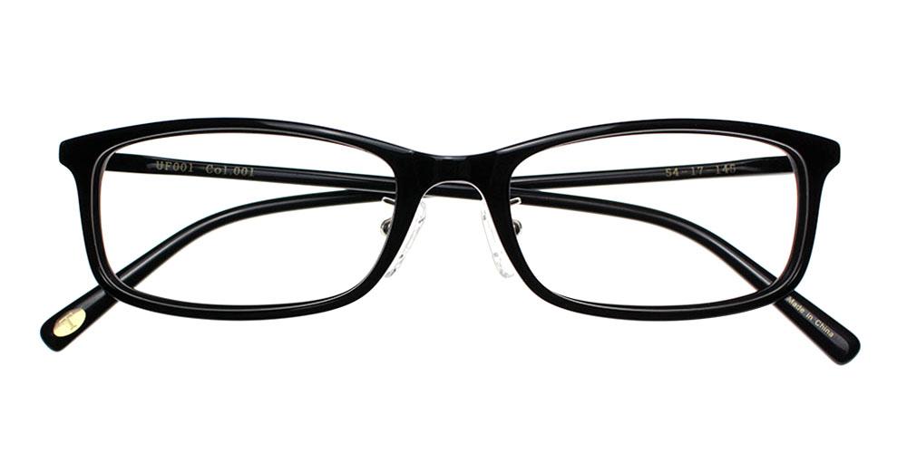 Newhall Eyeglasses Black