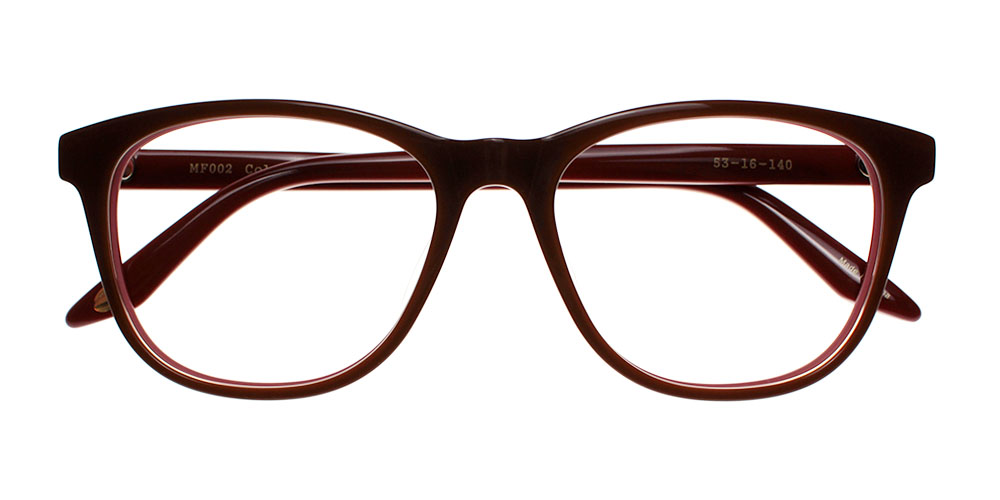 Pacoima Eyeglasses BrownRed