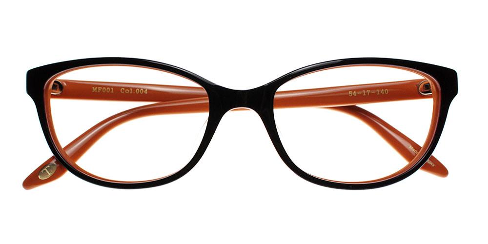 Quincy Eyeglasses BrownOrange