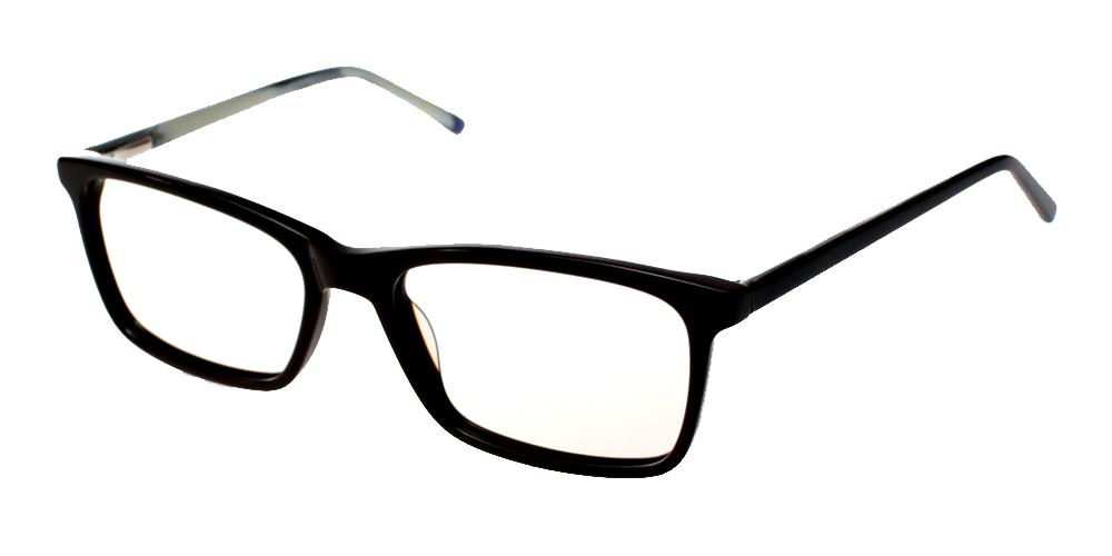 Tiburon Eyeglasses BlackDemi