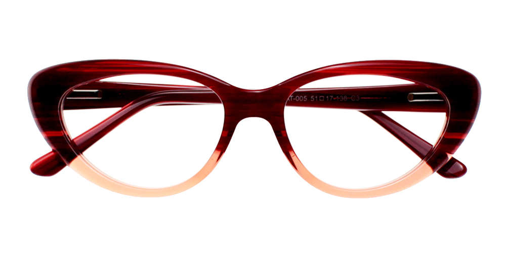 Upland Eyeglasses BrownRed